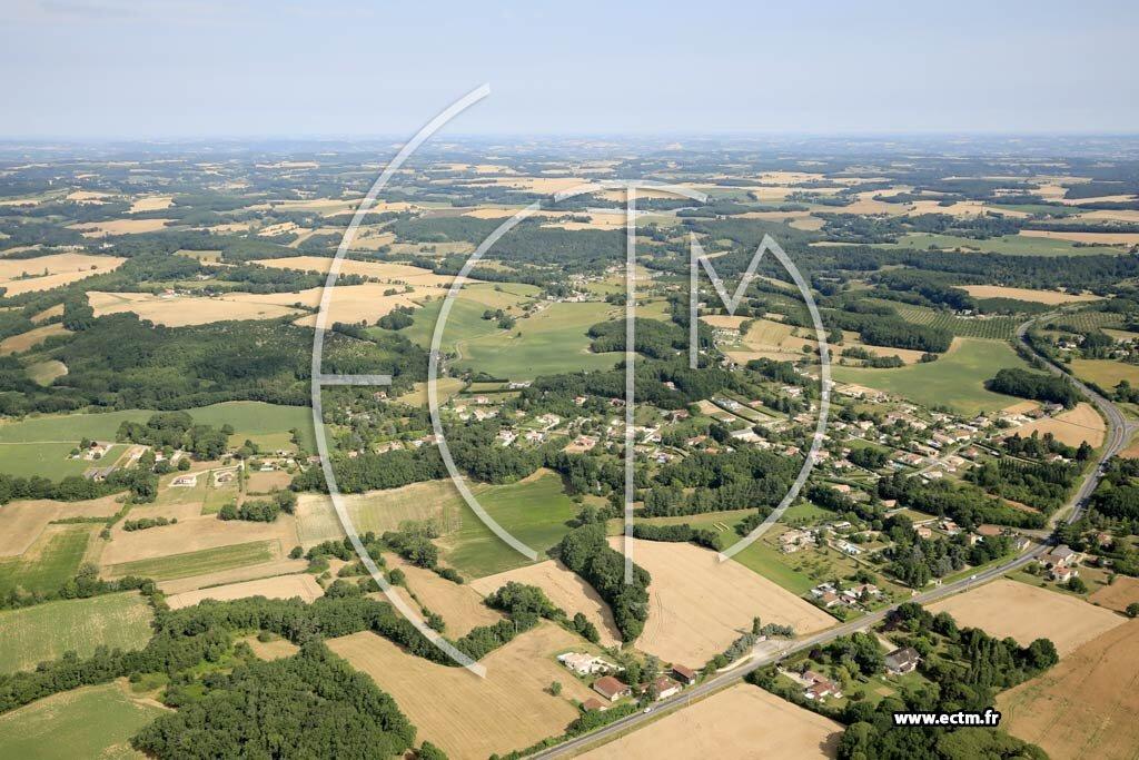 Votre Photo Aérienne - La Croix-Blanche - 3663584996533 pour Zone Croix Blanche